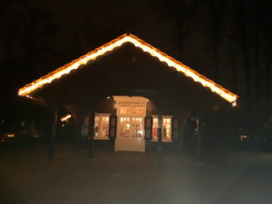 Jachthuisje in kerstsfeer[2511]